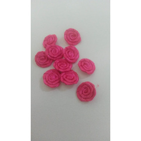 Rosas De Cetim De 1 Cm Preço De Pct Com 50 Unidades.frete Un