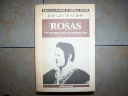 rosas por jose luis busaniche - hyspamerica