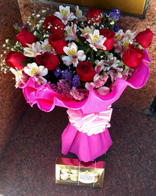 Rosas Ramos Flores Primaverales Envios A Domicilio