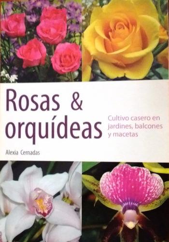 rosas y orquideas cultivo casero en jardines balcones maceta