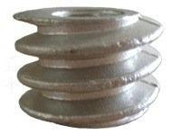 rosca sem fim de aluminio para eixo da frangueira