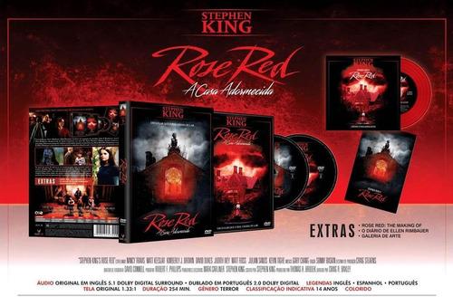 rose red - a casa adormecida - dvd duplo + cd - nancy travis