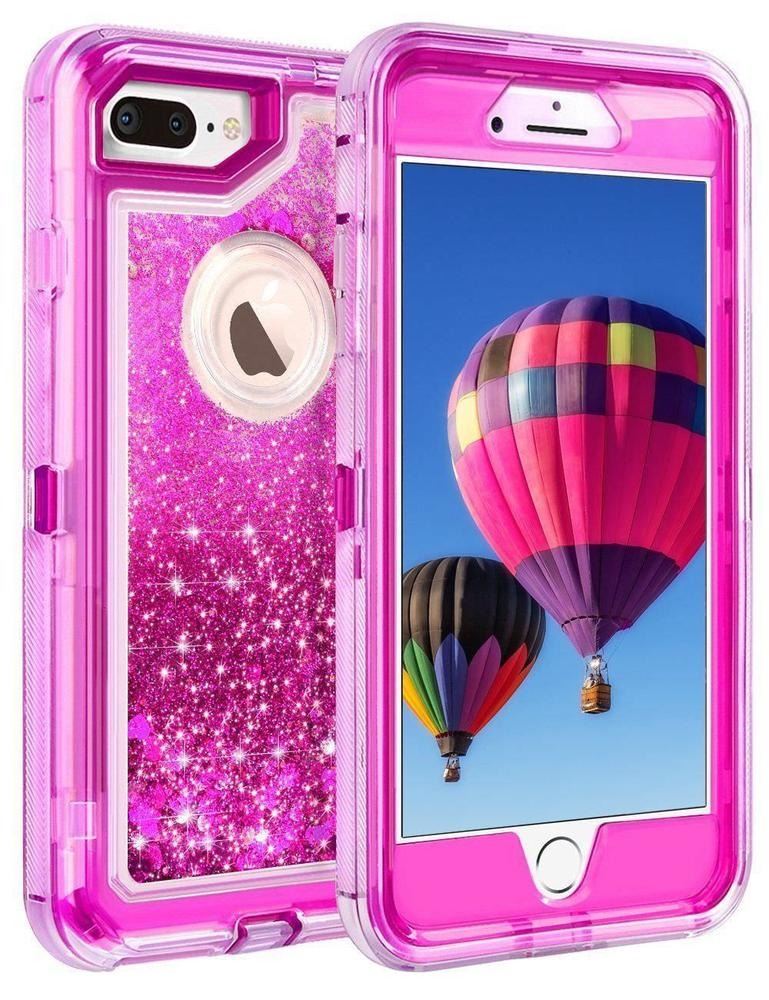 quality design 0bf9f 0b237 Rose Red - For iPhone 7 Plus - Arenas Movedizas Brillo -3722