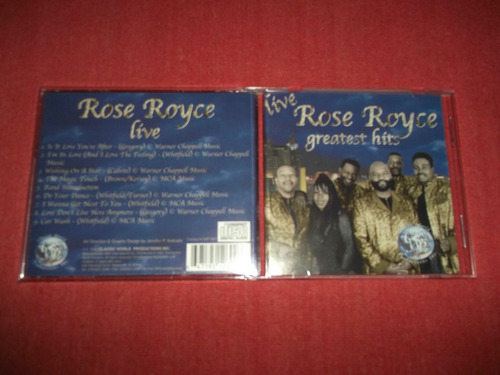 rose royce - live greatest hits cd usa ed 1999 mdisk