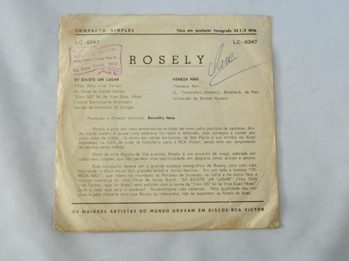 rosely - só exixte um lugar 1967  - compacto ep 10