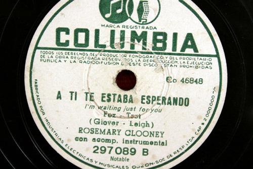 rosemary clooney, ven pa´mi casa! + a ti te estaba esperando