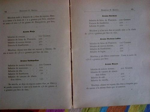 rosendo bofill. la enologia practica. elaboracion de vinos