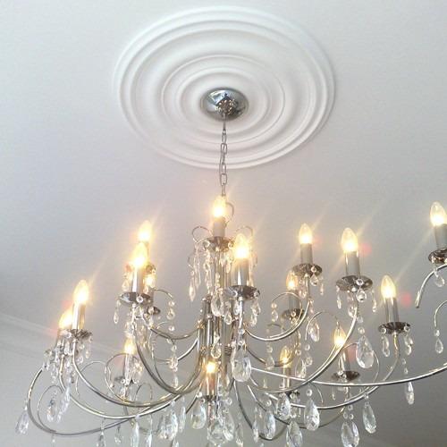 Rosetas apliques para lamparas de techo y pared rosetones bs en mercado libre - Apliques para techo ...