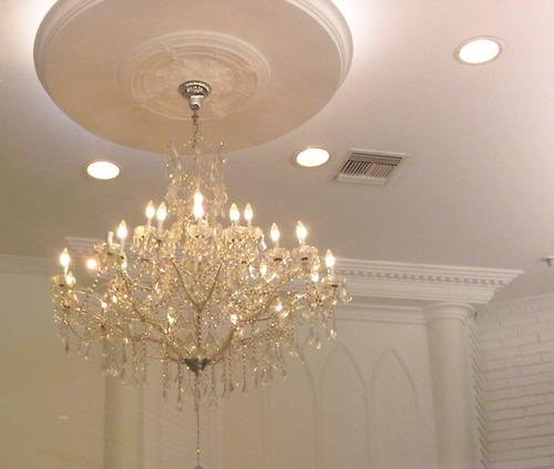 rosetas plafones para lamparas de techo y pared, apliques