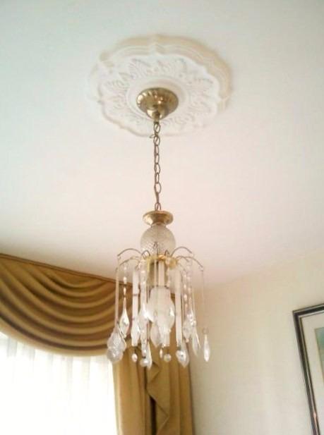 Rosetones o apliques plafones para lamparas de techo y pared bs en mercado libre - Apliques para techo ...