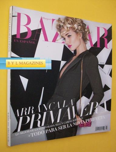 rosie huntington revista harpers bazaar mexico 2014