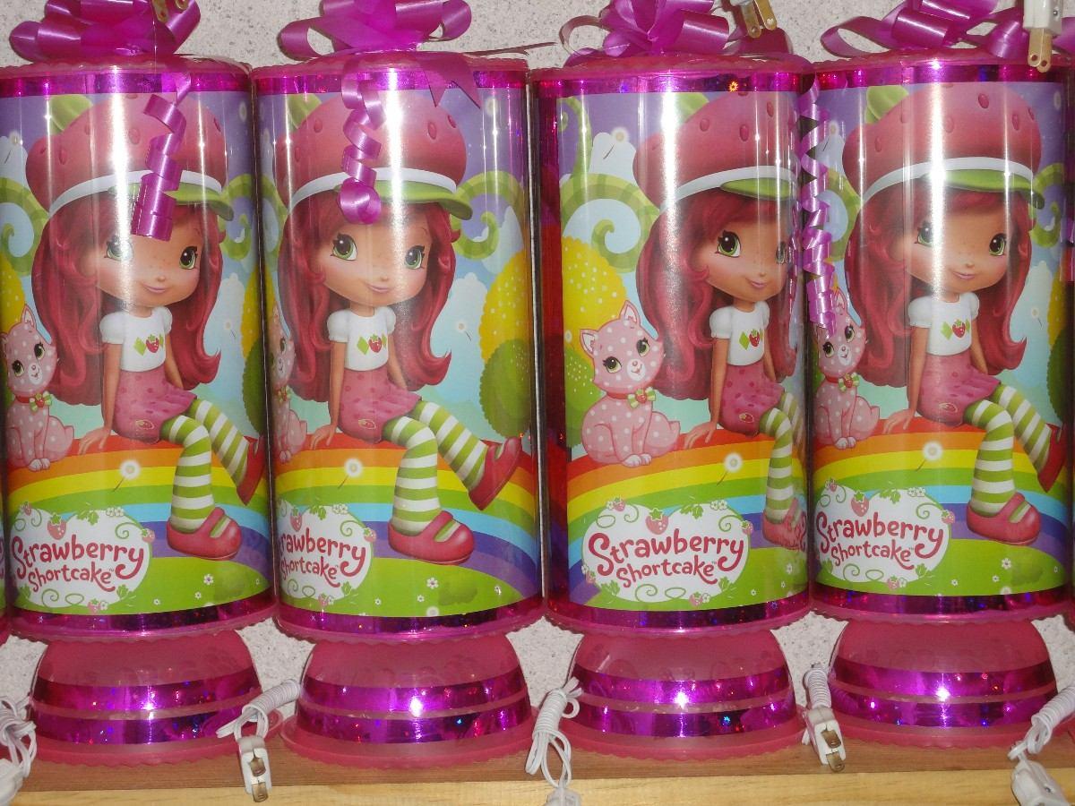 Rosita Fresita Recuerdos Centros De Mesa !piñata !lamparas ...