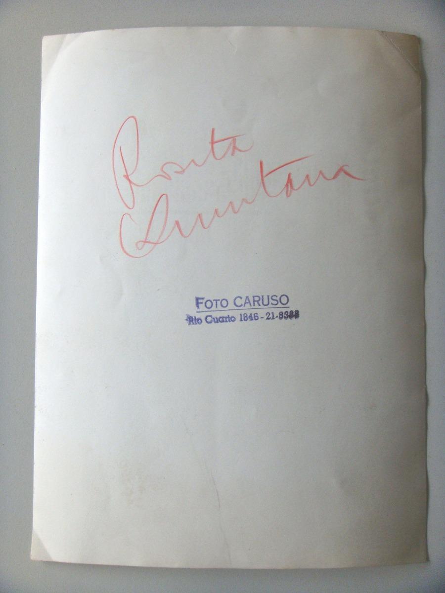 Rosita Quintana Actriz Y Cantante Mexicana Foto Original 191 66