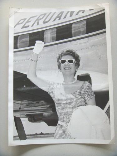 rosita quintana. actriz y cantante mexicana. foto original