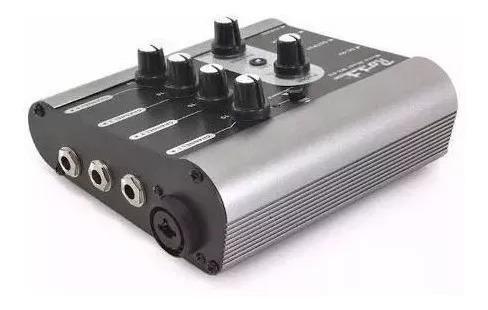 ross mx4u mixer consola usb graba 4 canales 1 xlr + 3 plug