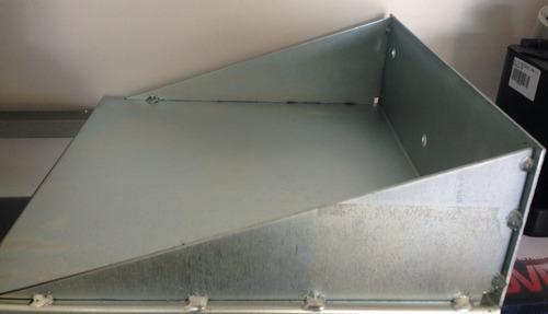 rossi suporte/chapa para fixar motor de portão deslizante