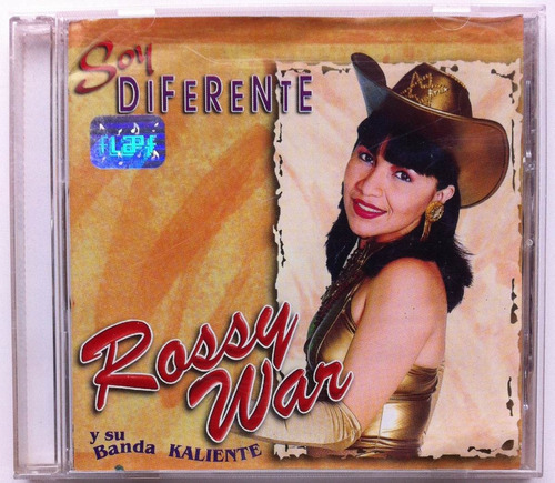 rossy war. soy diferente. cd original, buen estado