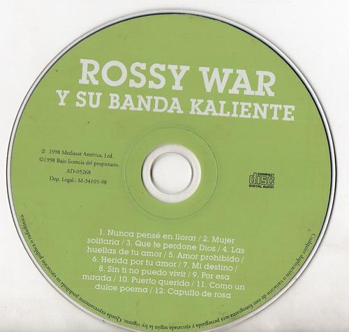 rossy war y su banda kaliente cd ricewithduck