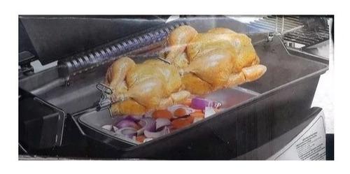 rosticero electrico para asador 9 kilos picaña pollo carbon
