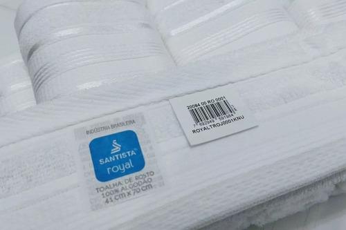 rosto cor: toalhas