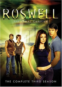 Roswell Tercera Temporada 3 Tres Importada Dvd
