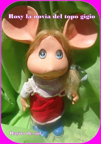 rosy la novia del topo gigio - rayito de sol mide  33