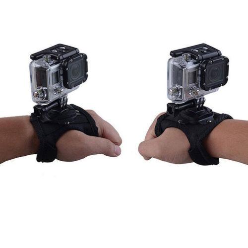 360 ° Correa de Montaje guante Estilo Muñequera Accesorios para GoPro Hero 4//3 //1 Cámara