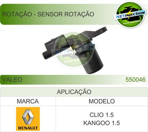 rotação - sensor renault clio kangoo 1.5 2001 550046