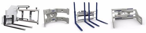 rotadores desplazadores uñas carton bale clamp cascade