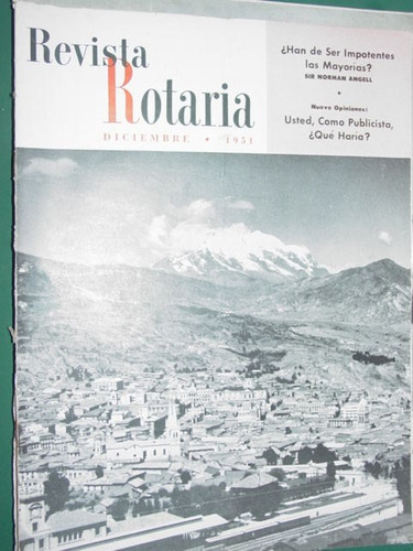 rotary club internacional revista rotaria antigua dic/51