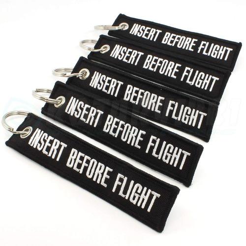 rotary13b1 insertar antes llavero de vuelo - negro - 5 pieza