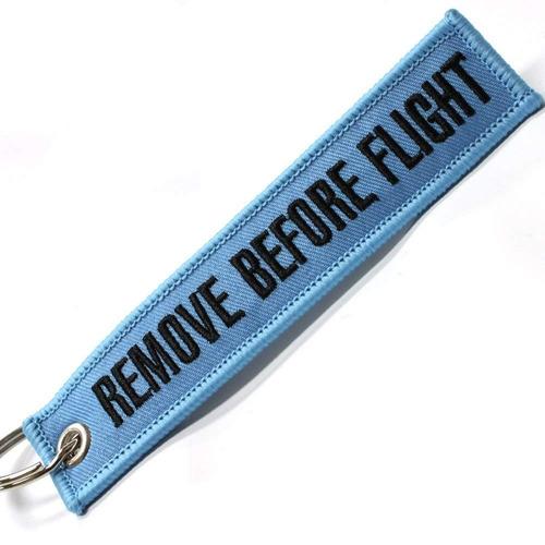 rotary13b1 - retire vuelo llavero antes vuelo - azul luz / n