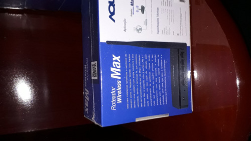 roteador aquário apr-2410 max 2,4 ghz n 150mbps