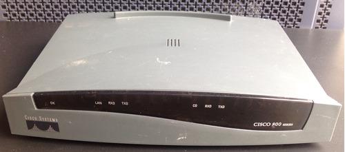 roteador cisco serie 800 modelo 805 (sem fonte)
