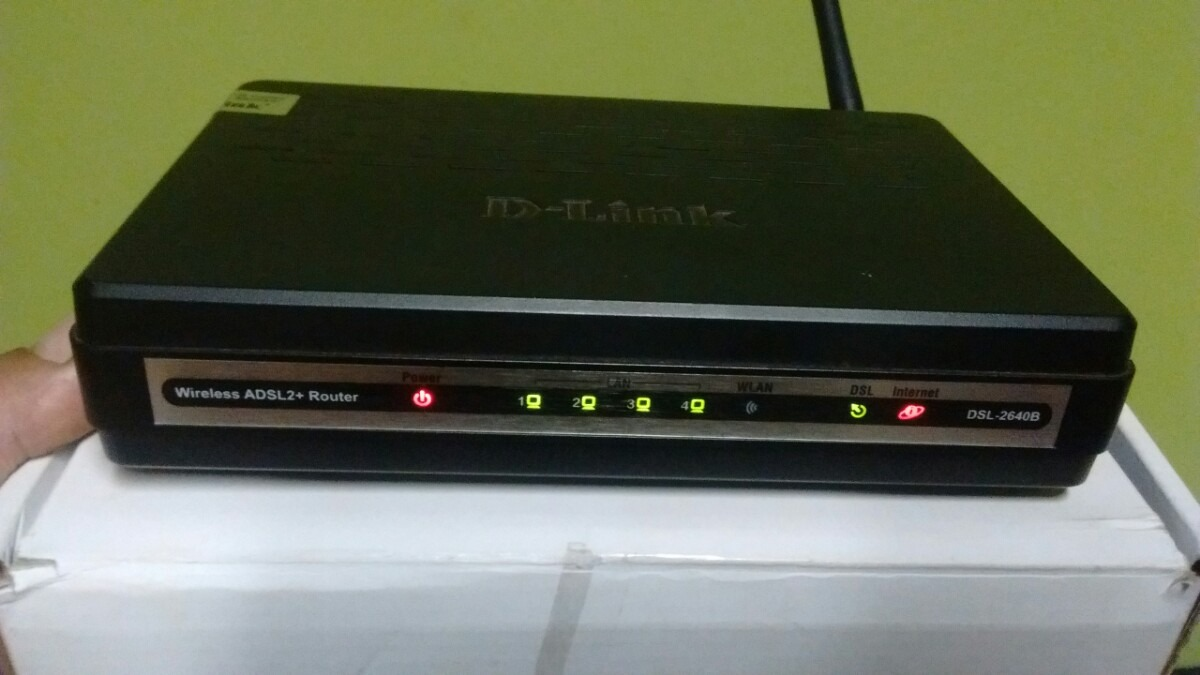 D-Link DSL-2640B Router Drivers for PC