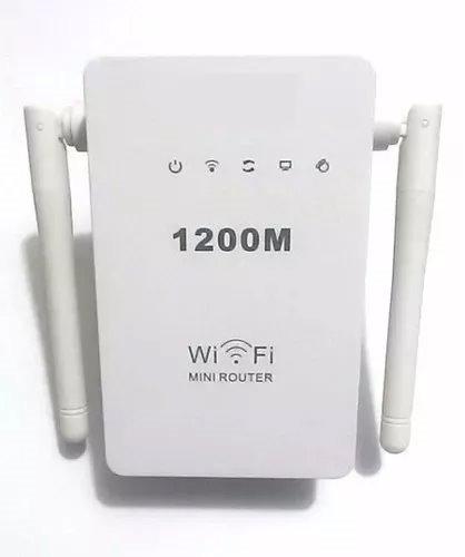 roteador e repetidor 1200mbps 2 antenas amplificador wireles