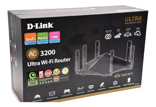 roteador gamer d-link dir-890l ac3200mbps ultra wireless