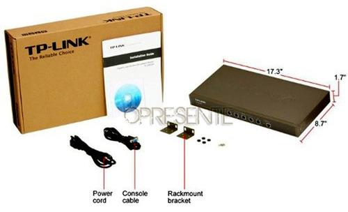 roteador gigabit load balance - tp-link tl-er5120