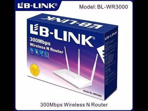 roteador lb-link bl-wr3000 wir 300m
