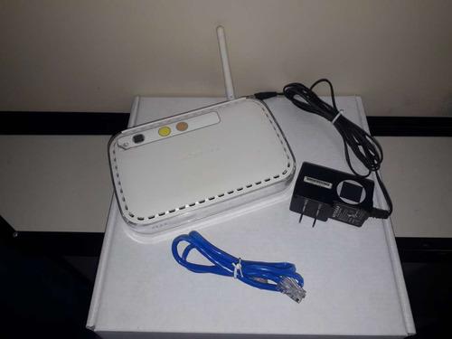 roteador netgear wireless-g router wgr614v10