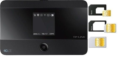 roteador portatil 4g lte tp link m7350 150mbps 2550mah