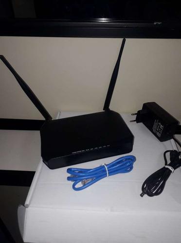roteador s/ fio wireless 300 mbps  encore 2 an. semi-novo