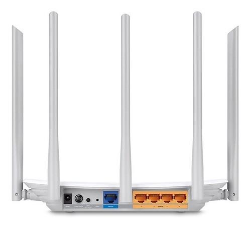 roteador tp-link archer c60 dual band 1350mbps ver 2.0 + nfe