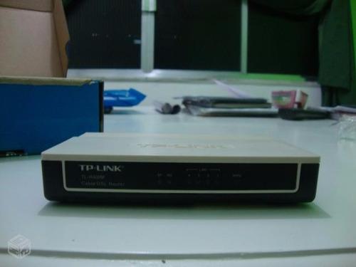 roteador tp-link modelo: tl-r402m (sem wi-fi)