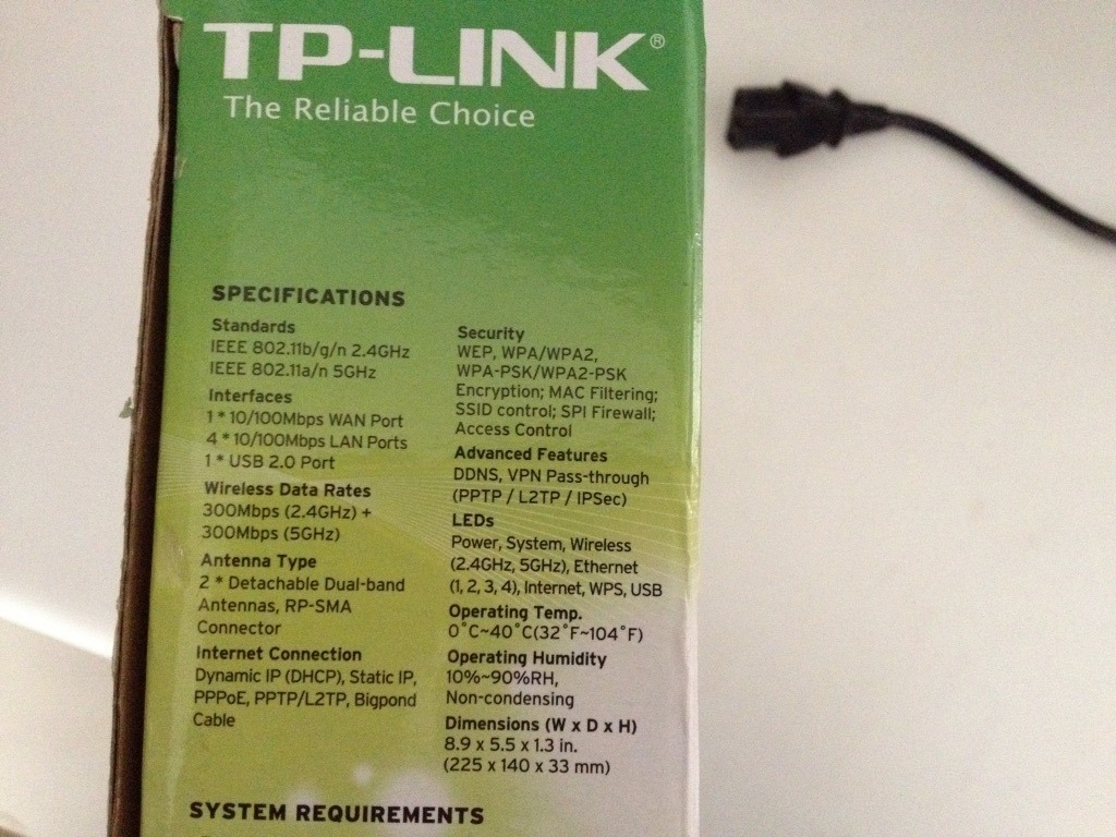 Roteador Tp-link N600