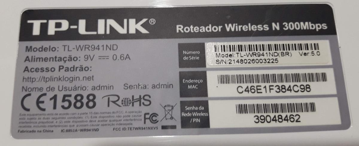 TP-Link TL-WR941ND V5 Router 64 BIT