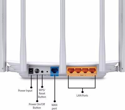 roteador tp link wifi dual band ac1350 archer c60 5 antenas
