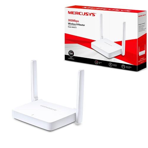 roteador tplink mercusys mw301r 300mbps 2 antenas envio 24hs