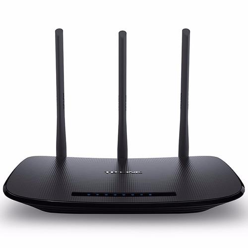 roteador wi-fi tplink wr 940n 3 antenas 5dbi 450mbps