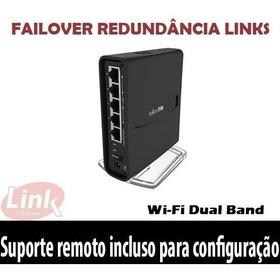 Roteador Wifi Mikrotik Rbd52g (hap Ac2) Failover Redundancia